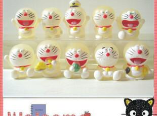 ◆10款夜光哆啦A梦公仔 叮当猫玩偶 机器猫模型 日本动漫周边卡通,玩偶,