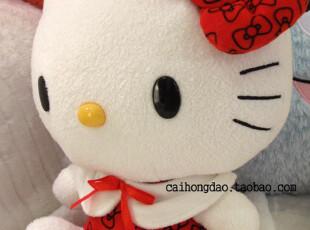 特!日本正版尾单sanrio三丽欧hello kitty凯蒂猫红斗篷公仔,玩偶,