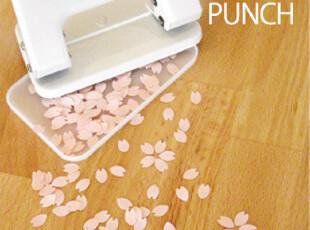 日本直送~正版个性新颖漂亮樱花型打孔器~2色细节,玩偶,