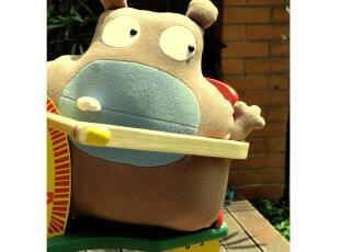 【创意站】PLUMO原创欢乐生物 OTI小怪兽抱枕 娃娃 礼品 毛绒,玩偶,