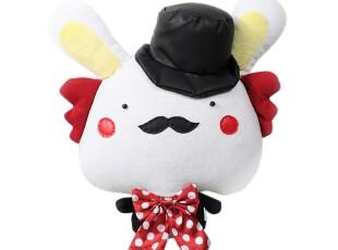 抱璞创意 爱丽兔之疯帽子 抱枕可爱 毛绒玩具包邮 毕业礼物 公仔,玩偶,