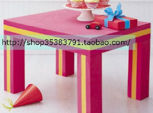 Fer's-依维艾儿童桌椅/儿童书桌/儿童安全用品/儿童餐桌 防撞桌子,玩偶,