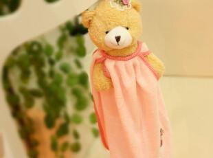 米西公主 可爱 大头熊熊悬挂毛巾  韩式擦手巾 熊熊擦手巾,玩偶,