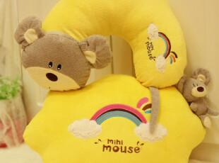 米西公主 咪咪鼠 靠垫 抱枕 靠垫 车靠抱枕 卡通枕 毛绒,玩偶,