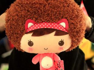 可爱摩丝娃娃插手暖手宝电暖手袋套毛绒热水袋套小挎包小包 6款选,玩偶,