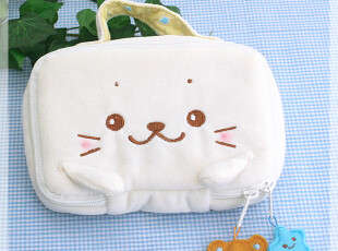 日本mother garden tata iphone4 超萌滴收纳包/psp多用/宠物包,玩偶,