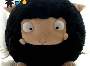 毛绒玩具-韩国专柜正品AMANGS天使羊咩咩可爱卡通公仔(恶魔咩),玩偶,