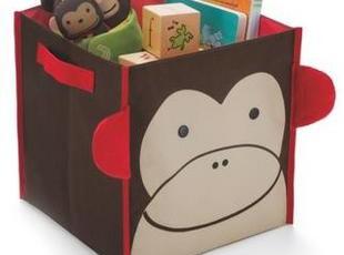 换季大促 美国SKIP HOP可爱动物园系列玩具储物箱 收纳箱/袋 方形,玩偶,