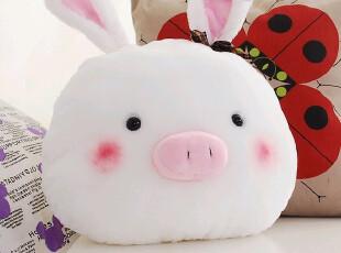 七夕情人节礼物可爱人气猪兔子公仔 大号抱枕 毛绒玩具批发娃娃,玩偶,