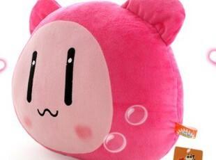 2011可爱个性QQ堂 毛绒娃娃微笑表情 公仔玩具 靠垫/抱枕,玩偶,