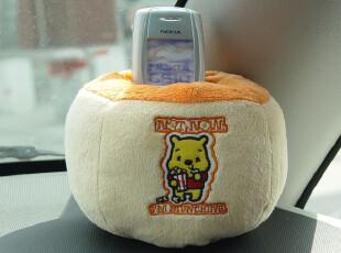 特卖正版Disney迪士尼维尼熊手机座车用有激光防伪标识,玩偶,