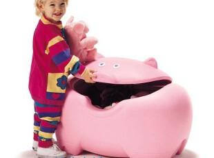 【六一节礼物】美国原装Step2 粉红小猪玩具收纳箱*特惠价*,玩偶,