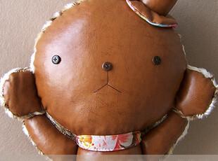 [布童凡想]小葵(熊)手工布偶创意个性玩偶娃娃生日七夕情人节礼物,玩偶,