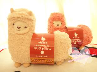 可爱生日礼品创意羊日本AUNT MERRY特大号!羊驼香薰毛绒抱枕靠垫,玩偶,