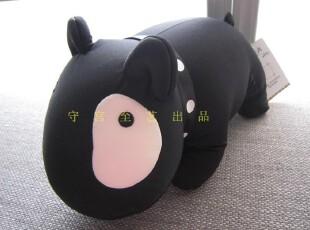 纳米玩具娃娃公仔靠垫日欧美外贸尾单卡通动物黑色贱狗,玩偶,