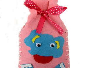 手工布艺DIY 收纳包 挂袋 趣味储物笔袋 束口袋材料包0.0125,玩偶,