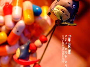 日单 TOTORO龙猫 花の密语系列 手机链 公仔挂件 礼物,玩偶,