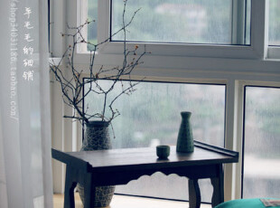 和风----日单原木实木泡桐木坑桌折叠桌茶桌电脑桌,电脑桌,