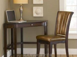 美式家具 外贸原单 美式乡村 转角电脑桌/书桌/写字台SZ-024,电脑桌,