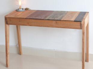 zakka 日式实木桌子 电脑桌 写字台 简约复古 书房办公家具 特价,电脑桌,