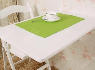 SoBuy靠墙壁桌宜家餐桌折叠桌学习桌书桌电脑桌实木桌FWT04W 白色,电脑桌,