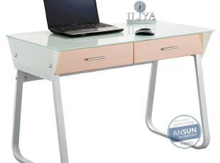 安尚 精品办公桌 韩式电脑桌 书房家具书台 简约书桌写字台 12007,电脑桌,