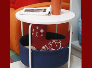 潮土创意多功能收纳置物架 田园茶几 小边几 时尚小桌子电话桌,电脑桌,
