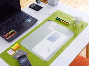 热卖特价秒杀 4色韩国整理垫 办公桌垫 柔软写字垫 电脑书桌垫,电脑桌,
