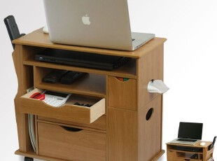 日式可移动沙发柜 电脑桌 床头柜 多功能收纳柜--日本专利产品,电脑桌,