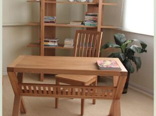 原始原素 白橡木家具 实木 书桌 办公桌 电脑桌 写字台 非柞木,电脑桌,