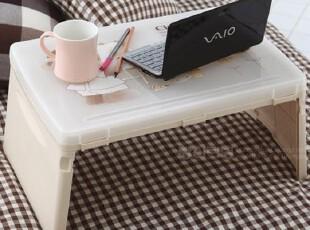 韩国进口 便携折叠式手提电脑桌儿童学习桌宝宝吃饭桌可存放文具,电脑桌,