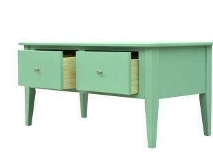 2012田园地中海韩式纯色绿 实木 书桌餐桌 办公桌,电脑桌,
