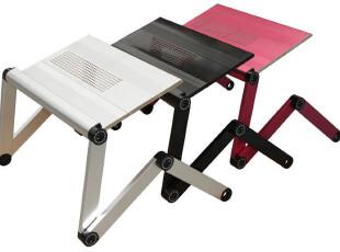 商城包邮送四礼 J2 铝合金带散热笔记本电脑桌懒人床上电脑桌OMAX,电脑桌,