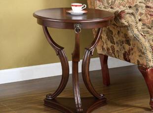 特价美式简约茶几小园桌角几边几沙发边桌咖啡桌电话桌圆形小茶几,电脑桌,