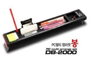 代购韩国新概念多功能电脑桌办公桌面收纳盒/整理盒/ 不带usb连接,电脑桌,