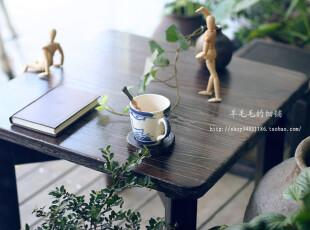 和风---日单原木实木泡桐木烧桐木折叠坑桌茶几儿童桌电脑桌棋桌,电脑桌,