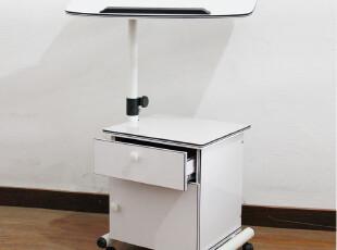 笔记本电脑桌 本本桌 床边桌 移动电脑桌 可倾斜 带抽屉 可升降桌,电脑桌,
