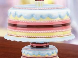 【纽约下城公园】来一块诱人陶瓷蛋糕匣 现货,盘碟,