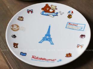 INCAFE| 超萌铁塔碟子 日本正单小盘 点心碟 蛋糕盘 ZAKKA 杂货,盘碟,
