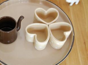 【山鱼良品】做旧仿塘瓷 陶瓷餐盘 托盘 25.5cm直径,盘碟,