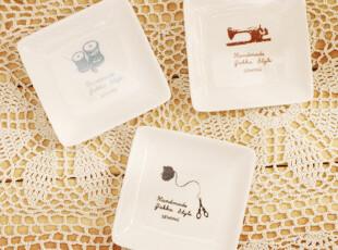 陶瓷小号碟盘 瓜子花生碟 三只可选 单只出,盘碟,