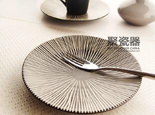 新品推荐  出口 西餐餐具 陶瓷盘 甜品盘 餐盘 圆盘 Luzerne,盘碟,