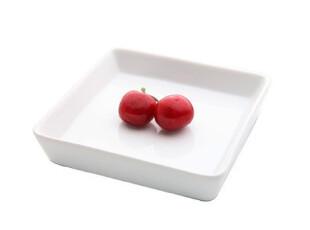 尚品陶瓷方形盘  餐盘 骨盘  醋碟 方形 收纳盘 白色 12*12cm,盘碟,