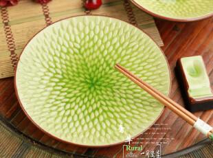 碗形状的盘子  陶瓷餐具 焗饭盘/菜盘(米粒田园)汤菜盘,盘碟,