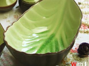 景德镇 陶瓷餐具 香叶汤碗 面碗 沙拉碗 (两个款式),盘碟,