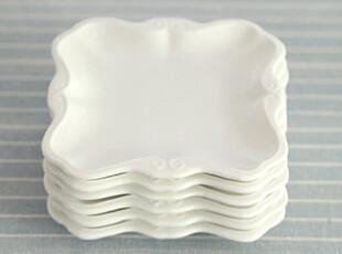 【爱味食器】5寸小凉菜碟陶瓷餐具白色 180g,盘碟,
