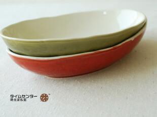 K*T 日本品牌货 正单 三色椭圆盘  鱼盘 寿司盘 370,盘碟,