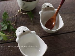 INCAFE |可爱小白熊小碗 菜碟 小菜碗 动物碗 ZAKKA 杂货 日单,盘碟,