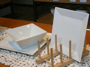 D.Ids'出口北欧简约风 精品陶瓷方形碟 沙拉碟 水果盘 西餐碟菜碟,盘碟,
