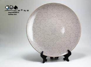 外贸出口 陶瓷盘餐具 大盘子果盘 西餐盘牛排盘寿司盘装饰盘900g,盘碟,